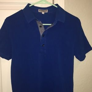 Express small stretch pollo shirt